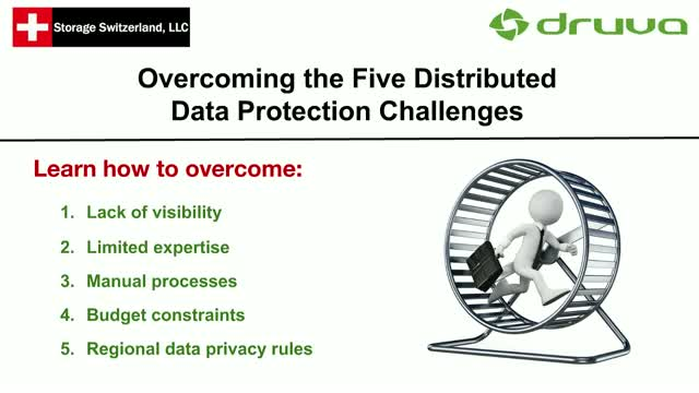 Overcoming the Five Distributed Data Protection Challenges