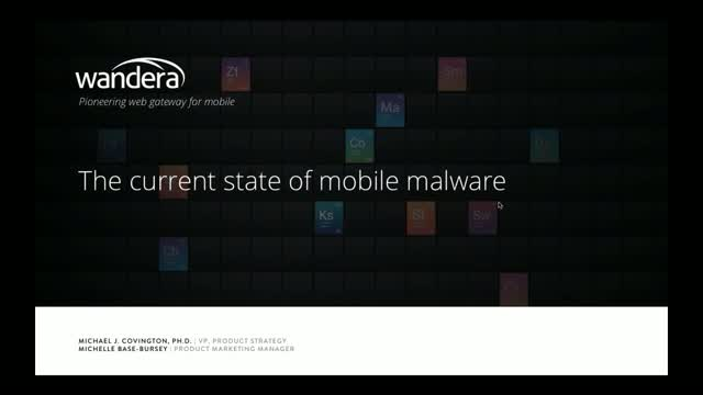 Mobile Malware Uncovered