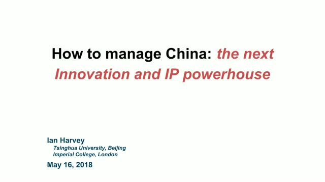 Steps to successfully manage your IP in China