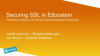 Cybersecurty Webinar – Solving the challenges of SSL decryption in Education