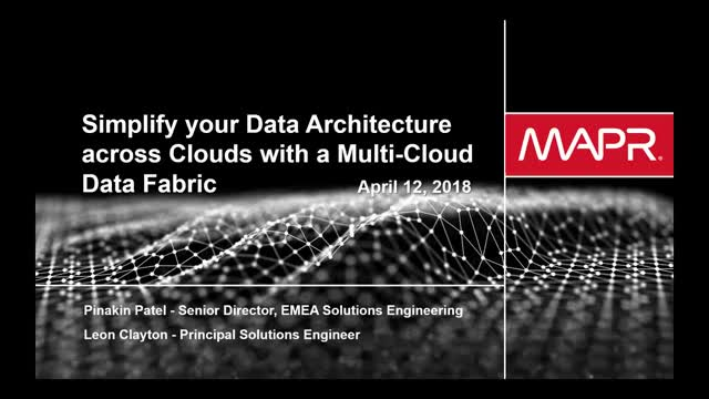 Simplify your Data Architecture Across Clouds with a Multi-Cloud Data Fabric