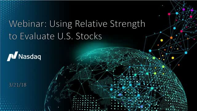 Using Relative Strength to Evaluate Stock