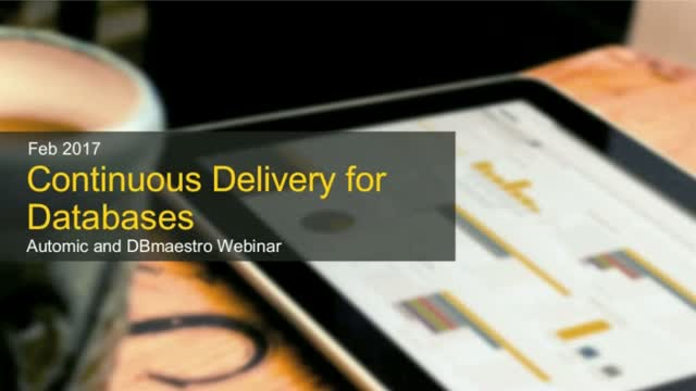 Continuous delivery for Databases