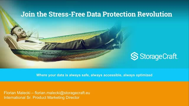 Join the Stress-Free Data Protection Revolution!