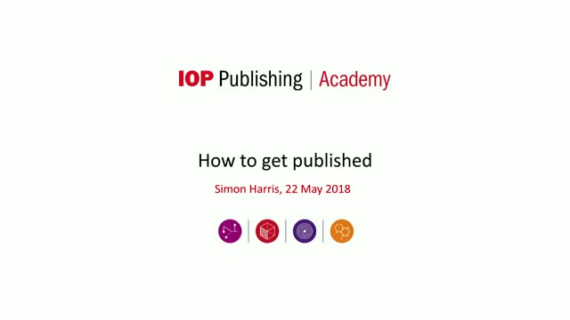 IOP Publishing - How to get published