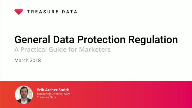 GDPR: A Practical Guide for Marketers