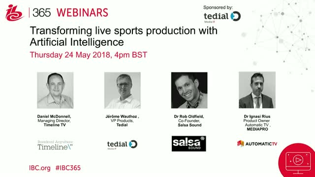 Transforming Live Sports Production with Artificial Intelligence
