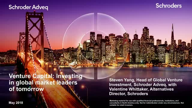 Venture Capital: Investing in global market leaders of tomorrow