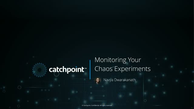 Monitoring Your Chaos Experiments