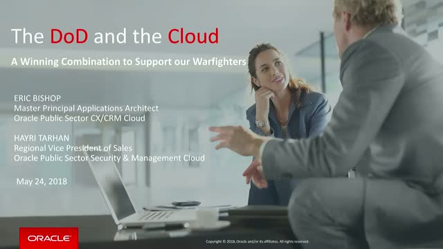The DoD and the Cloud: A Winning Combination to Support our Warfighters
