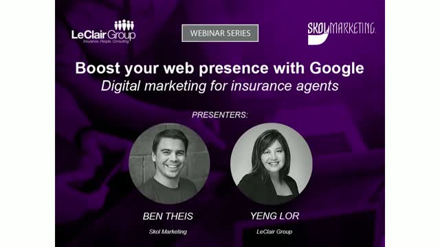 Boost Your Web Presence with Google