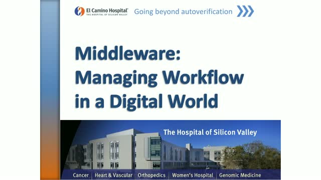 Middleware: Managing Workflow in a Digital World