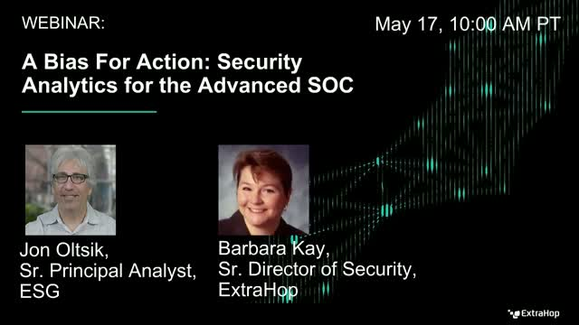 A Bias for Action: Security Analytics for the Advanced SOC
