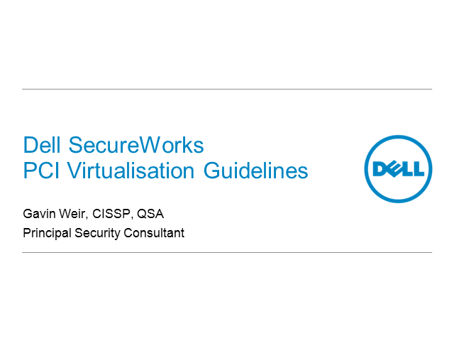 Go Forth & Comply: New virtualisation guidelines from PCI Council