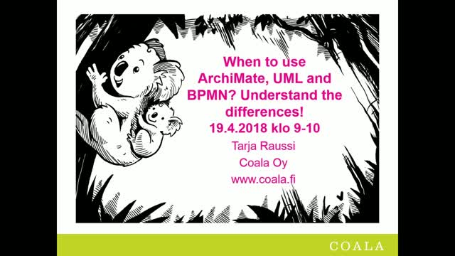When to use ArchiMate, UML and BPMN? Understand the differences!