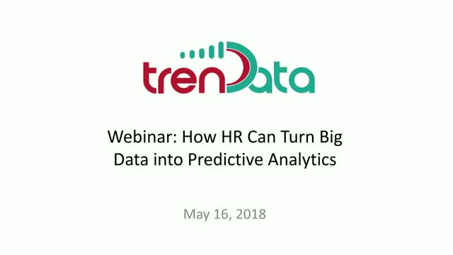 How HR Can Turn Big Data into Predictive Analytics