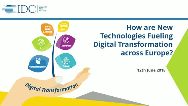 How are New Technologies Fueling Digital Transformation across EU?