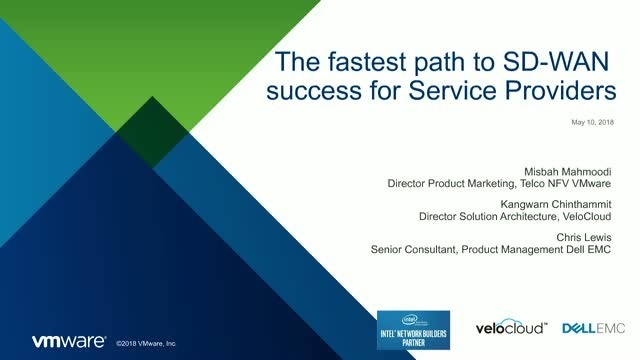 The Fastest path to SD-WAN Success for Service Providers
