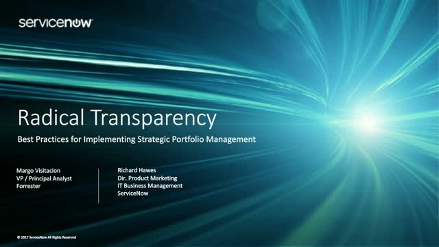 Best Practices for Implementing Strategic Portfolio Management with Forrester