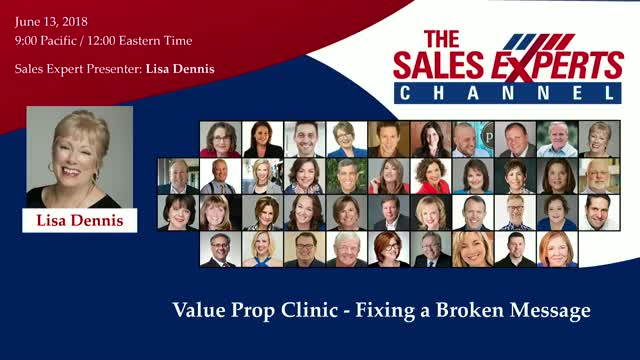 Value Prop Clinic - Fixing a Broken Message