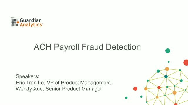 Detect ACH Payroll Fraud in Real-time
