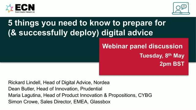 5 things you need to know to prepare for (& successfully deploy) digital advice