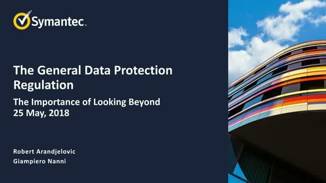 GDPR: The Importance of Looking Beyond 25 May, 2018
