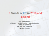 8 Trends of IoT in 2018 and Beyond