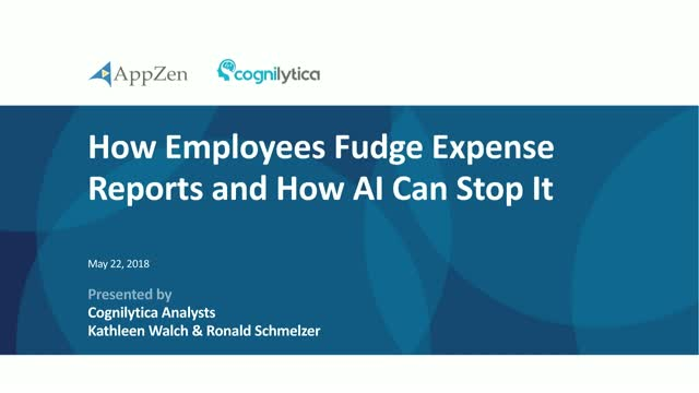 How Employees Fudge Their Expense Reports and How AI Can Stop It