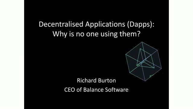 Decentralised Applications (Dapps): Why is no one using them?