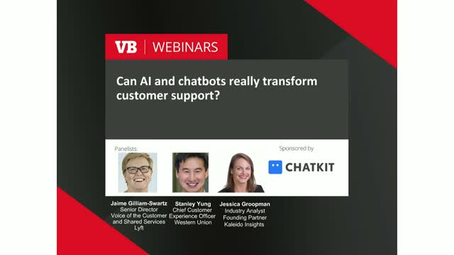 Can AI and chatbots really transform customer support?