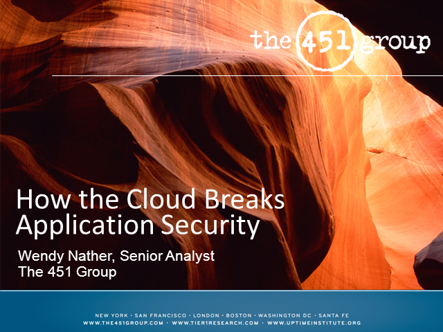 How the Cloud Breaks Application Security