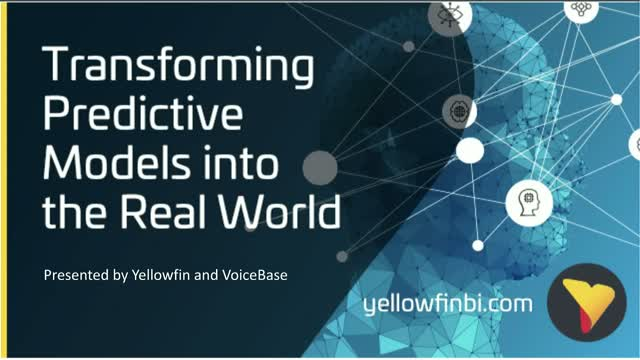 Discussion with VoiceBase: Transforming Predictive Models into the Real World