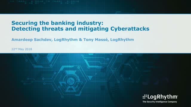 Securing the banking industry: Detecting threats and mitigating cyberattacks