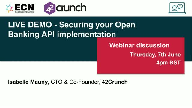 LIVE DEMO - Securing your Open Banking API implementation