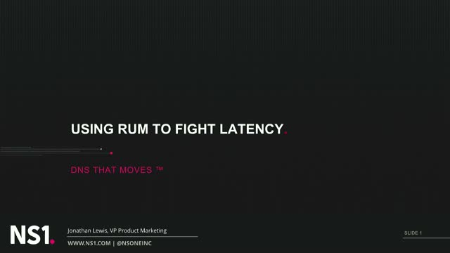Using RUM to Fight Latency and Supercharge Performance