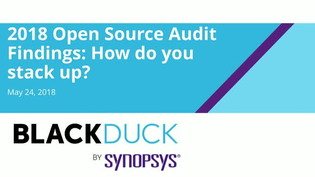 2018 Open Source Audit Findings: How Do You Stack Up?
