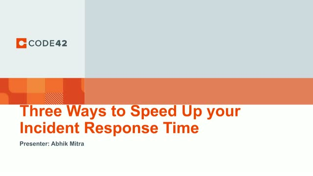 3 Ways to Speed Up Your Incident Response Time