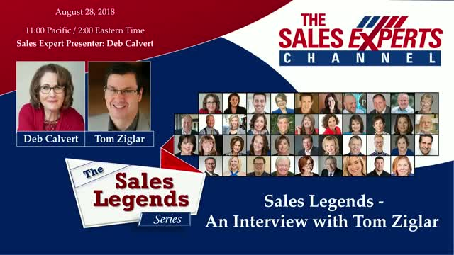 Sales Legends Series - An Interview with Tom Ziglar