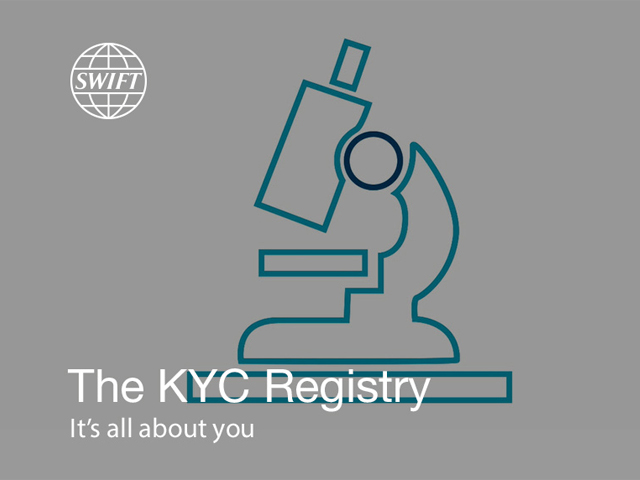 The KYC Registry - It's all about you