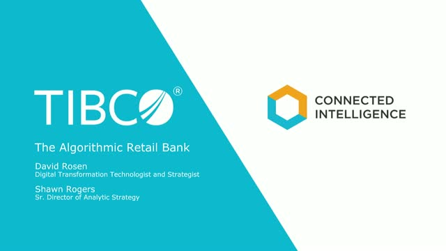The Algorithmic Retail Bank - How to be a leader