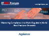 Tackling Compliance in a Multi-Regulatory World: Best Practices