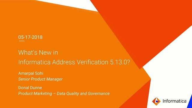Address Verification 5.13 – What's New?