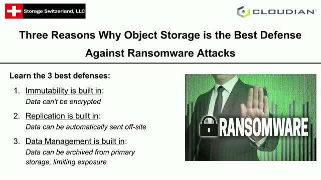 Three Reasons Why Object Storage is the Best Defense against Ransomware Attacks