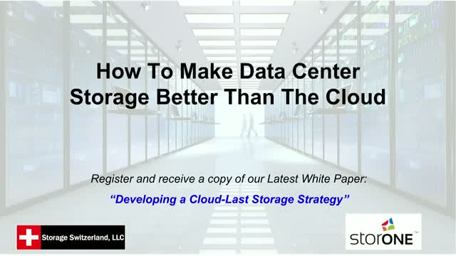 Data Center vs. Cloud: Advantages of On-Premise Storage