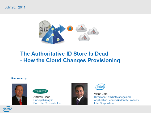 The Authoritative ID Store Is Dead-How Cloud Changes Provisioning