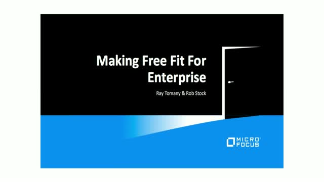 How the Enterprise can Utilise Open Source - Developing, Testing and Monitoring