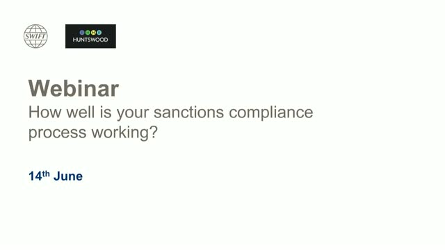 How well is your sanctions compliance process working?