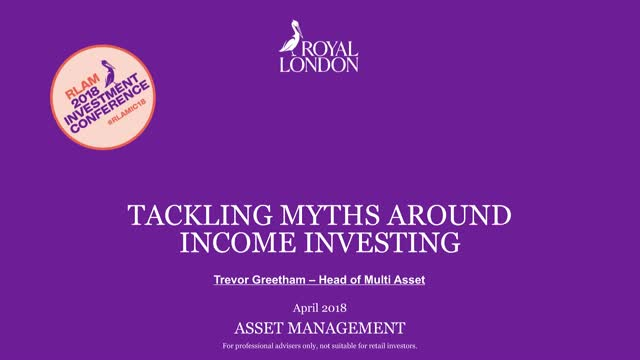 A multi asset approach to meeting income needs while mitigating downside risk