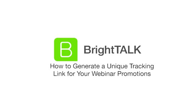 How to Generate a Unique Tracking Link for Your Webinar Promotions